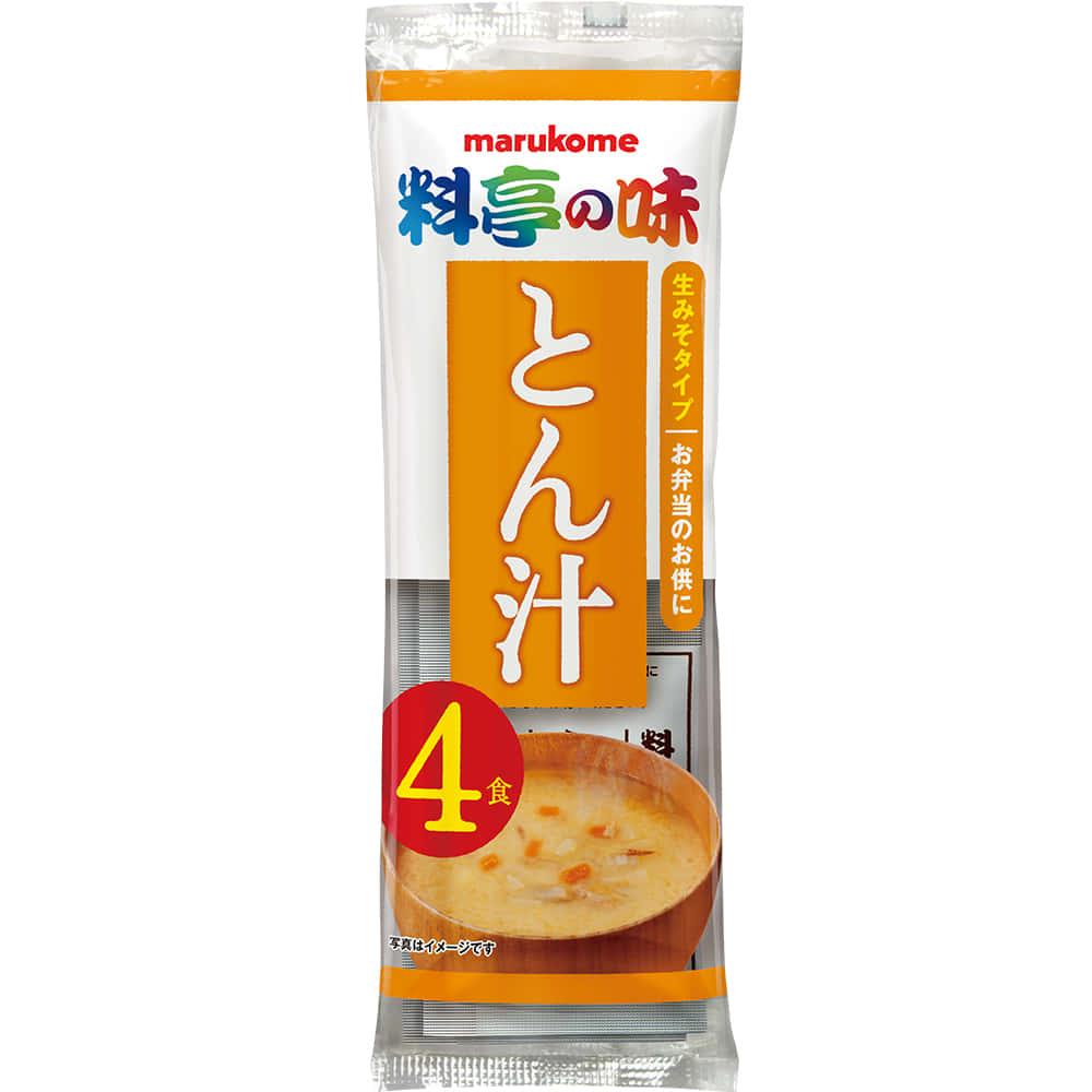 生みそ汁 料亭の味 とん汁 4食