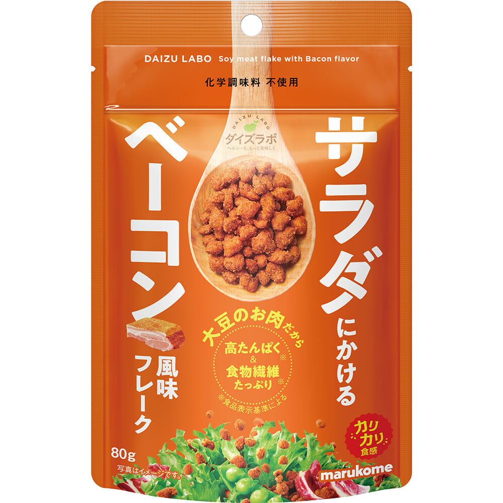 ダイズラボ サラダにかける大豆 ベーコン風味フレーク