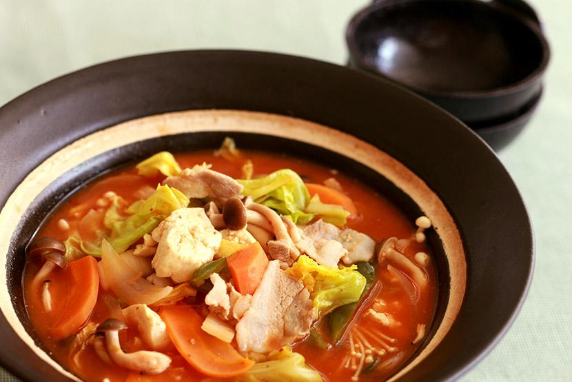 キムチトマト鍋