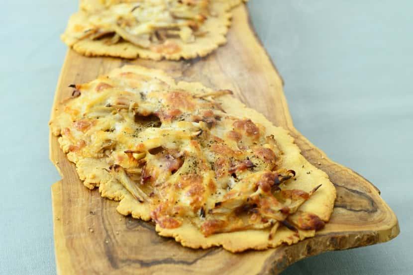 大豆粉入りクイック和風ピッツァ