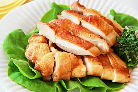 糀甘酒を使った鶏肉の甘辛焼き