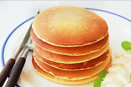 糀甘酒のパンケーキ
