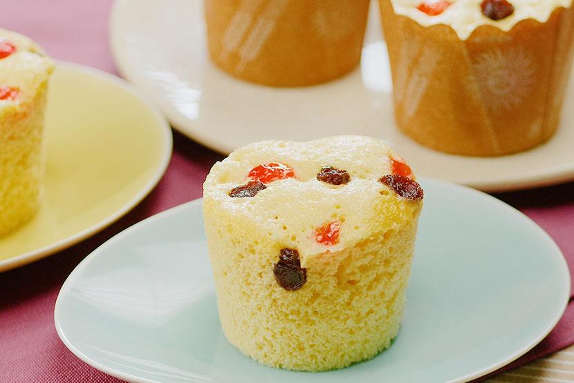 レンジカップケーキ