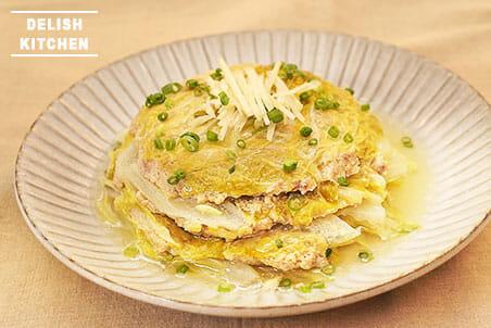 白菜と豚挽き肉のミルフィーユ