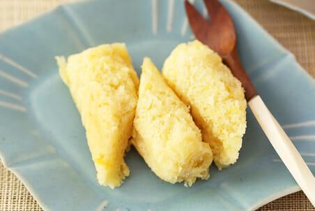 糀甘酒のスチームホイルケーキ レモン風味