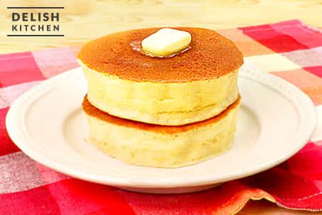 厚焼きヘルシーパンケーキ