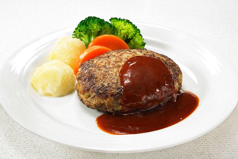 大豆のお肉のヘルシーハンバーグ