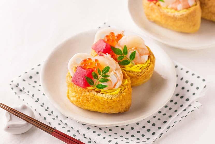 海鮮オープンいなり寿司