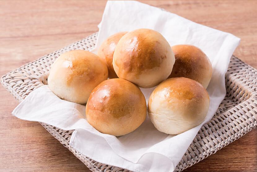 糀甘酒で作る基本の丸パン