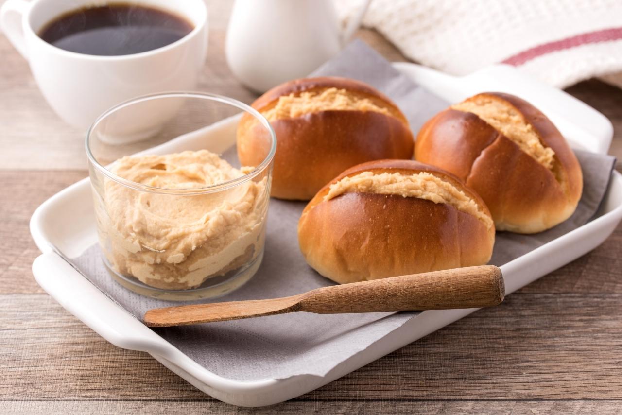 パンに塗る大豆粉スプレッド