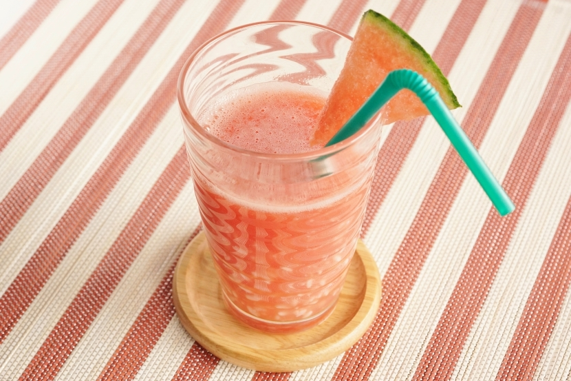 【手作り糀甘酒アレンジ】糀甘酒とスイカのジュース