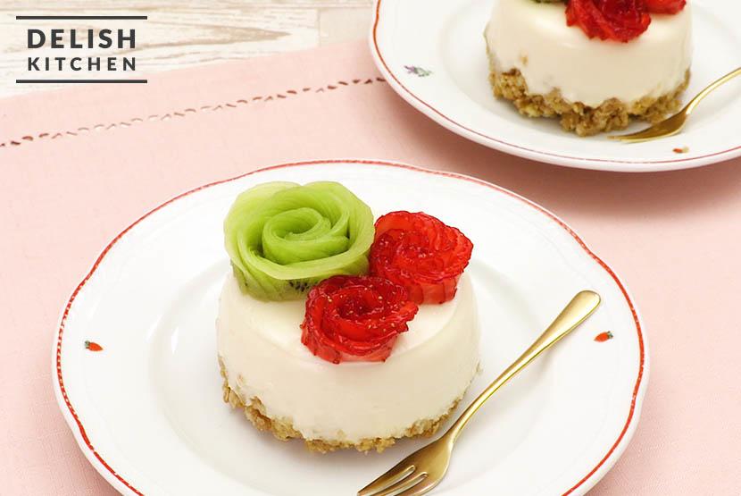 糀甘酒ヨーグルトのカーネーションケーキ