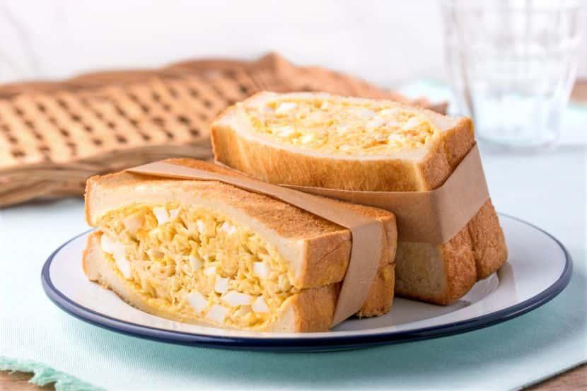 【即席みそ汁活用術】キャベツとゆで卵のボリュームサンド