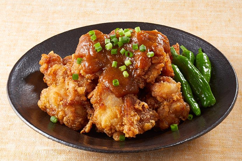 鶏から揚げ おろし味噌がけ
