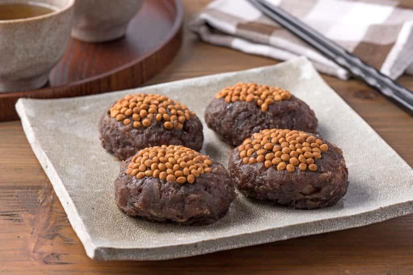 ご飯とおもちで簡単 大豆きなこおはぎ