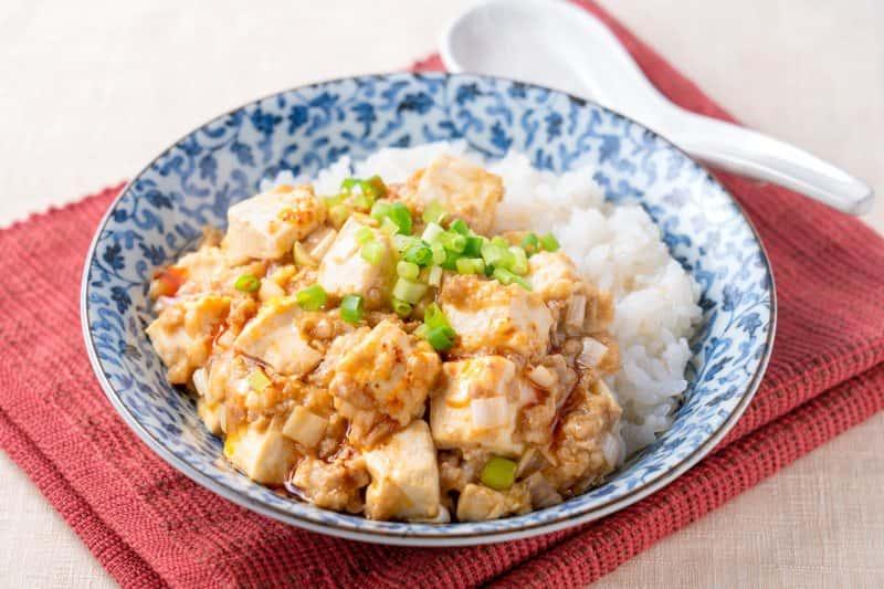 【即席みそ汁活用術】白い麻婆豆腐丼
