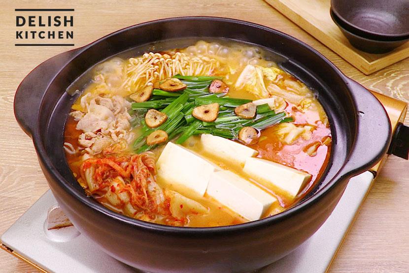 糀甘酒豚キムチ鍋