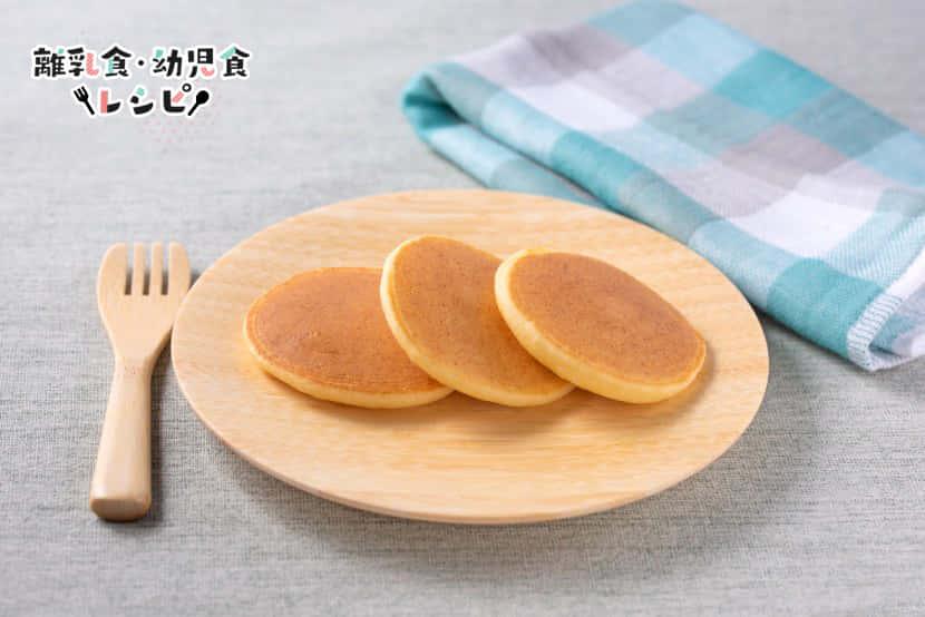 糀甘酒と豆腐のもっちりパンケーキ