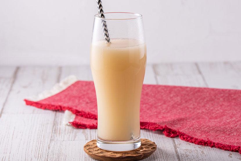 りんご黒酢のノンアルコール糀シードル(糀甘酒×りんご黒酢)