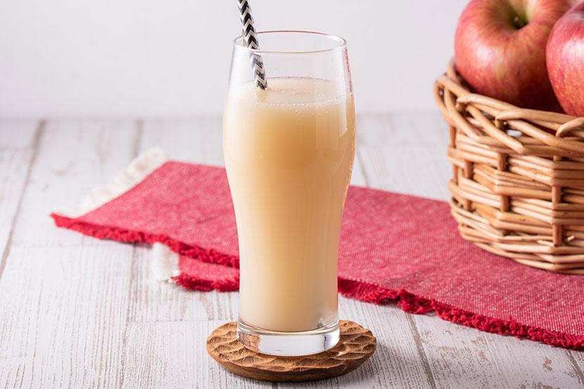 りんご黒酢のノンアルコール糀シードル(糀甘酒の素×りんご黒酢)