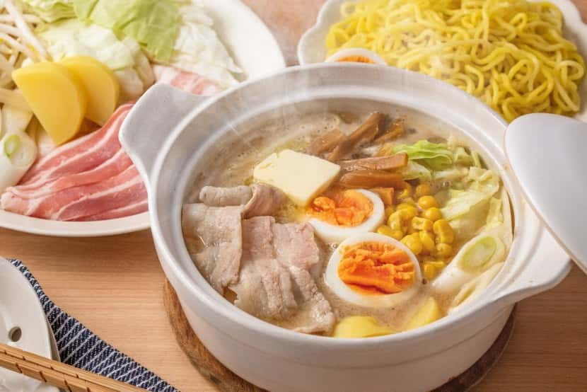 札幌風みそラーメン鍋