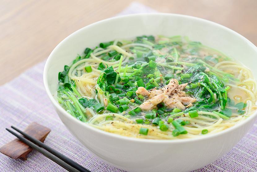 スープ パスタ 和風