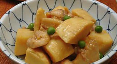 筍と鶏肉の味噌煮