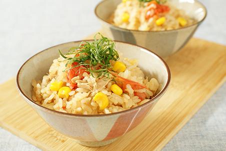 炊き込み ご飯 シーチキン 人気ツナ缶レシピ!ツナ入り五目炊き込みご飯:白ごはん.com