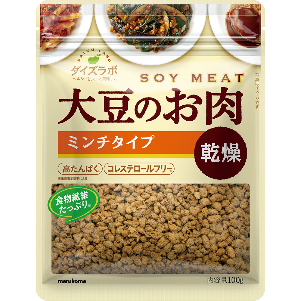 Daizu Labo Dried Soy Meat Minced