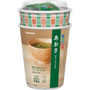 FD Cup Granulated Ryotei Miso Soup Aosa Seaweed