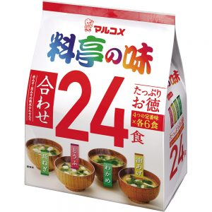 Ryotei No Aji Miso Soup Assorted 24 Serving