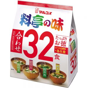 Ryotei No Aji Miso Soup Assorted 32 Serving