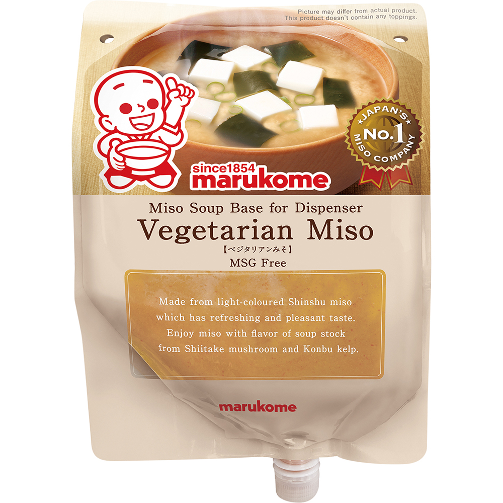 Dispenser Miso Vegetarian