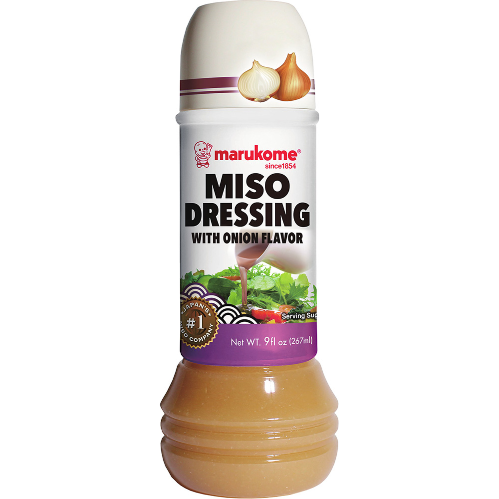 Miso Dressing Onion