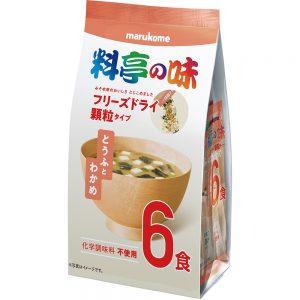 FD Granulated Ryotei Miso Soup Tofu