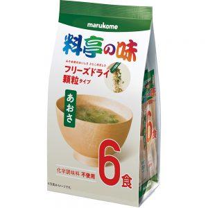 FD Granulated Ryotei Miso Soup Aosa Seaweed