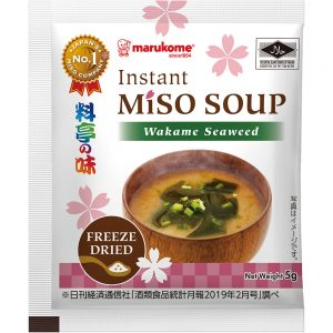 Halal Powdered Miso Soup Wakame 20P