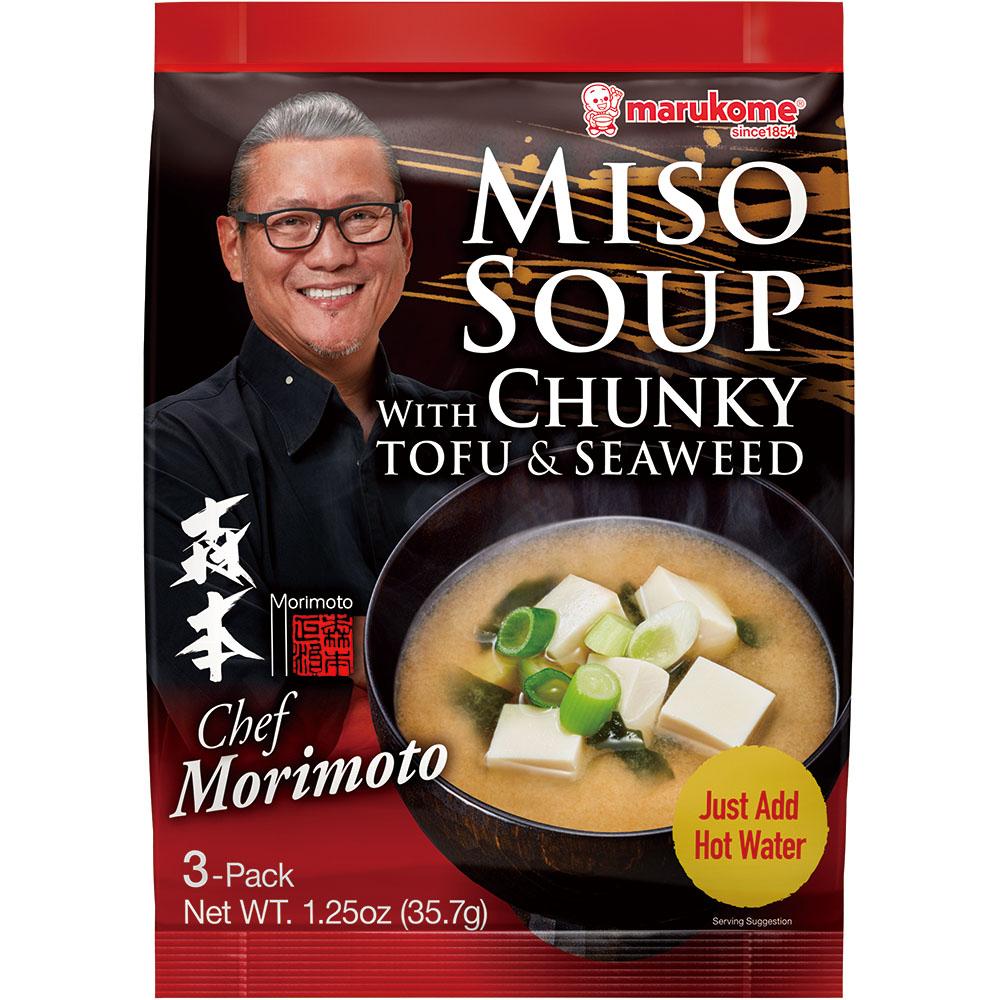 FD Morimoto Tofu Miso Soup 3P