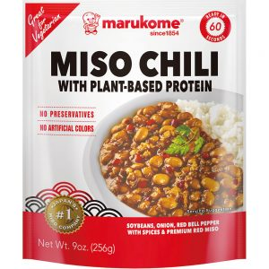 Miso Chili With Plant-based Protein