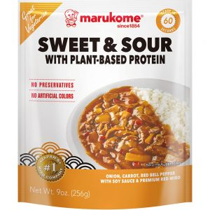Sweet & Sour With Plant-based Protein