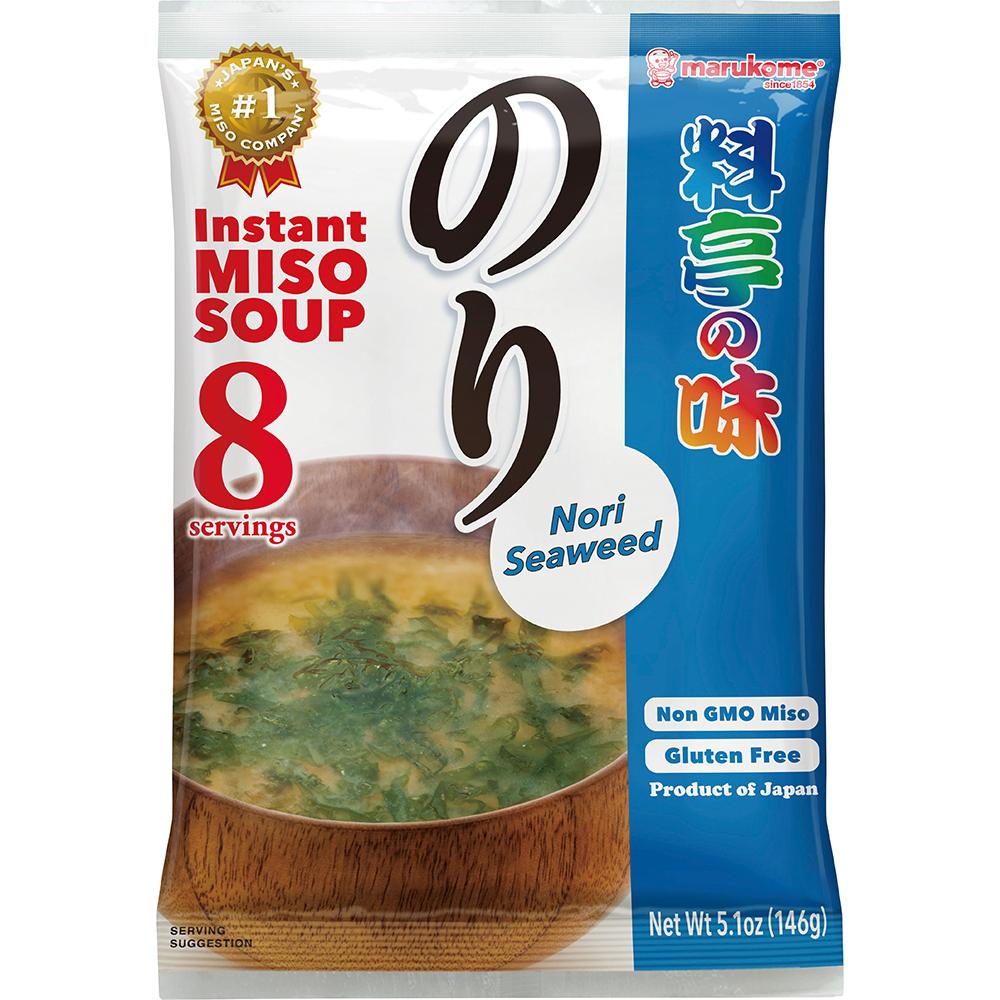 Ryotei No Aji Miso soup Nori Seaweed