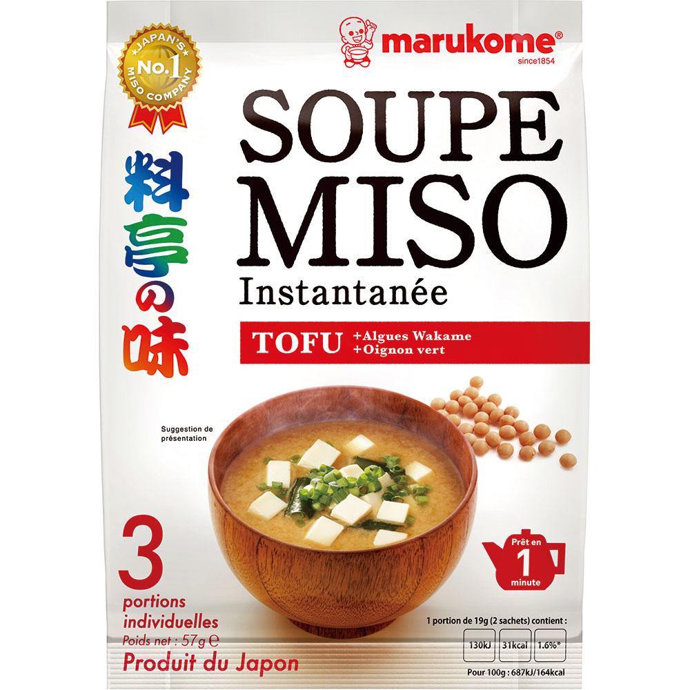 France Ryotei No Aji Miso Soup Tofu 3P