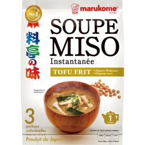France Ryotei No Aji Miso Soup Fried Tofu 3P