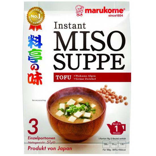 Germany Ryotei No Aji Miso Soup Tofu 3P