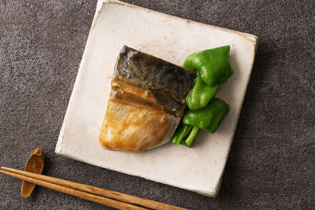 Boiled Mackerel with Miso