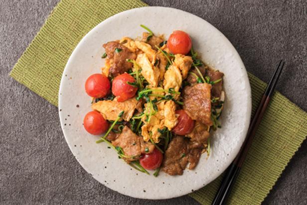 Miso Pork and Vegetables Stir-Fry