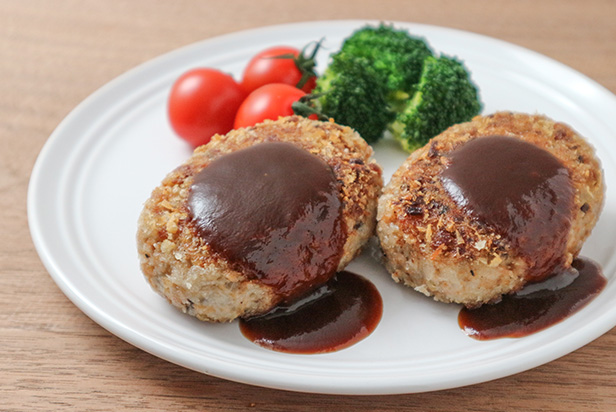 Soy Meat Hamburger Steak