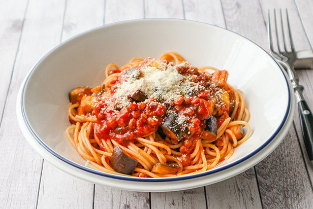 Soy Meat Pasta
