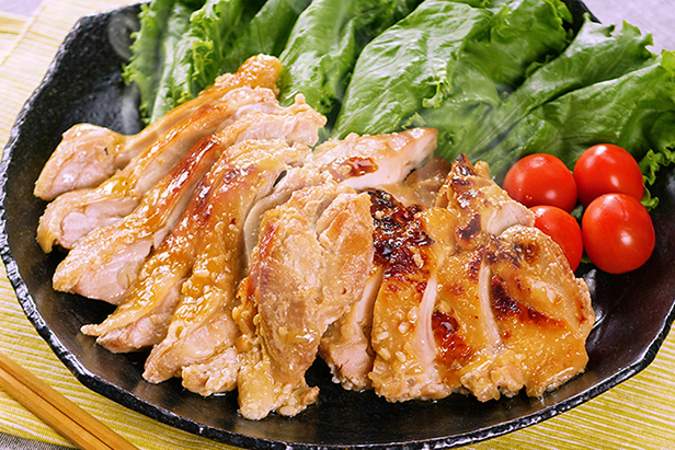 Grilled Chicken with Shio-Koji