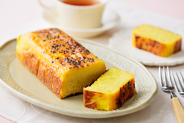 Sweet Potato Cheese Cake with Koji Amazake
